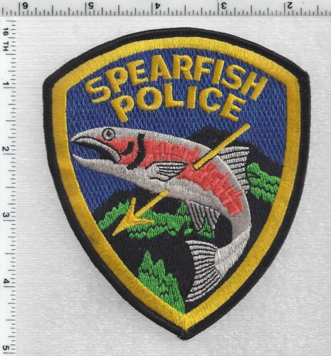 Spearfish Police (South Dakota) 4th Issue Shoulder Patch