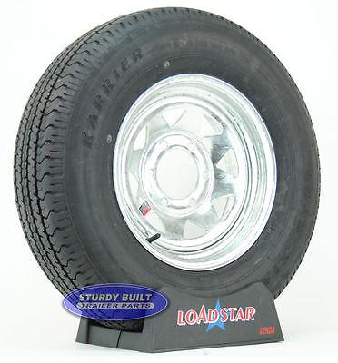 """Boat Trailer Tire by LoadStar ST 225/75R15 Galvanized Wheel 15"""" Rim 6 Lug LRD"""
