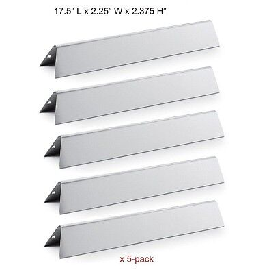 - Stainless Steel Flavorizer Bars 5pk BBQ Gas Grill Parts for Weber Genesis 7620
