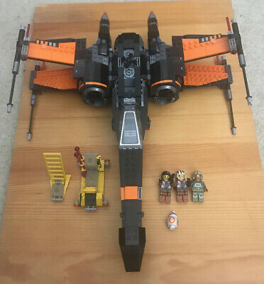 LEGO Star Wars Poe's X-Wing Fighter (75102) - 100% Complete