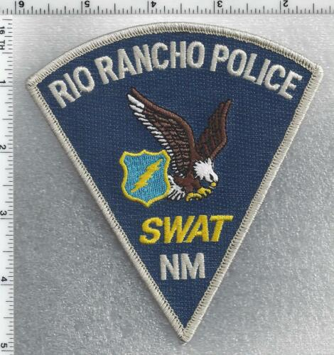 Rio Rancho Police SWAT (New Mexico) 1st Issue Shoulder Patch