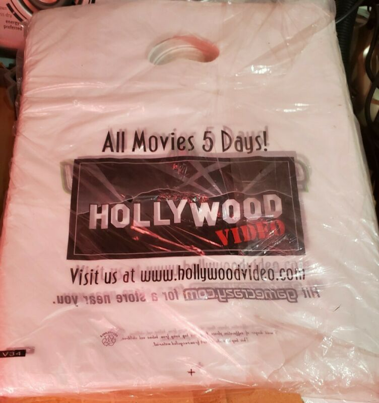 1000 Hollywood Video Game Crazy Video Rental Store Vintage Classic Store Bags