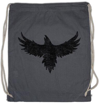Crow Silhouette Turnbeutel Crows Bird Birds Raven Ravens ()