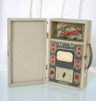 Vintage Weston Analyzer Meter Model 772