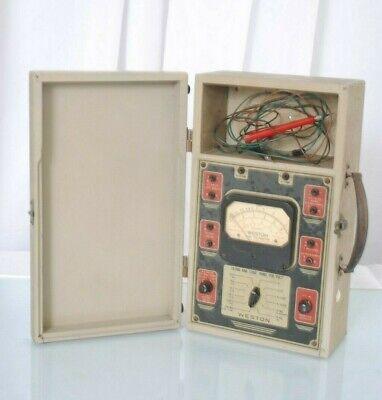 Vintage Weston Analyzer Meter Model 772
