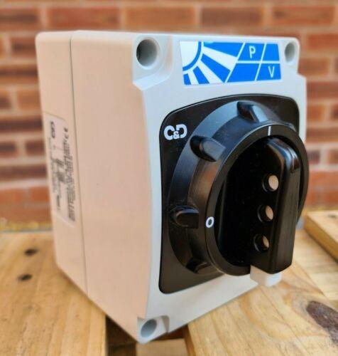 Craig & Derricott PV Switch Disconnector Solar 16A  DC Isolator IP66,- New