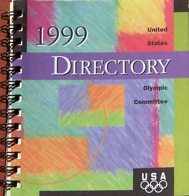 1999 UNITED STATES OLYMPIC COMMITTEE DIRECTORY