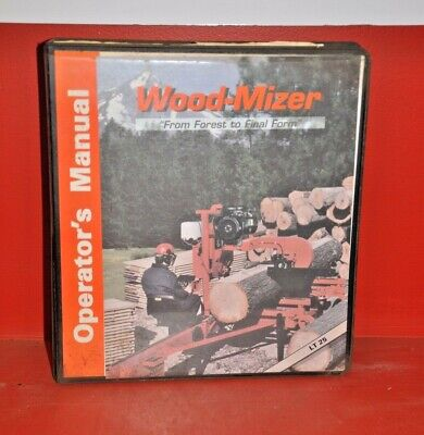 Wood-mizer Lt25 Operations Manual Service And Parts Binder Bundle
