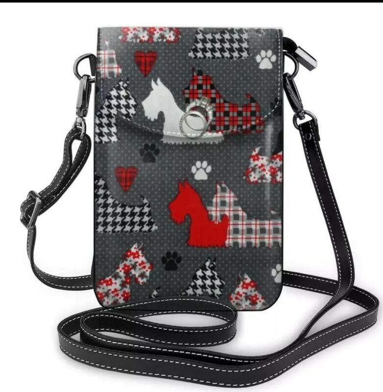 Scottish Terrier Scottie Dog Crossbody Purse handbag Free Ship hurry only 2