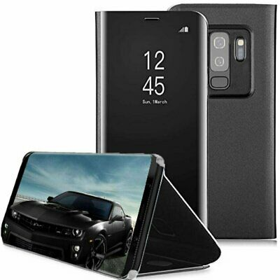 Touch Mirror Smart Flip Stand Case Cover Samsung Galaxy S9 S9 Plus Note 9 Cases, Covers & Skins