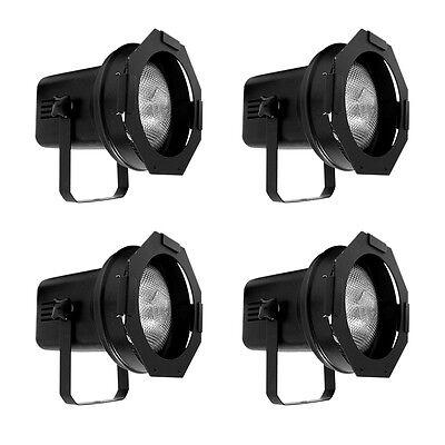 4-Pack American DJ 150W Professional Metal Par Can Stage Lights | 4 x PAR-38BL American Dj Stage Lighting