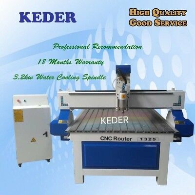 Cnc Router 48 1325 Water Cool Spindle Woodwork Engrave Cut Furniture Machine