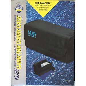 Brand New Nuby Game Pak Carry Case (for Original Gameboy) *US version *US seller