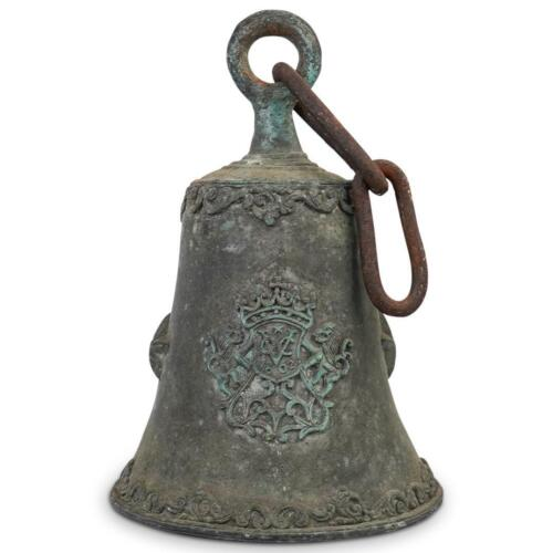 18th Century VOC Dutch East India Company Bell Rare Marked 1602