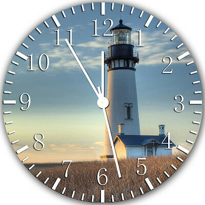 """Lighthouse Light House wall Clock 10"""" will be nice Gift and Room wall Decor X29"""