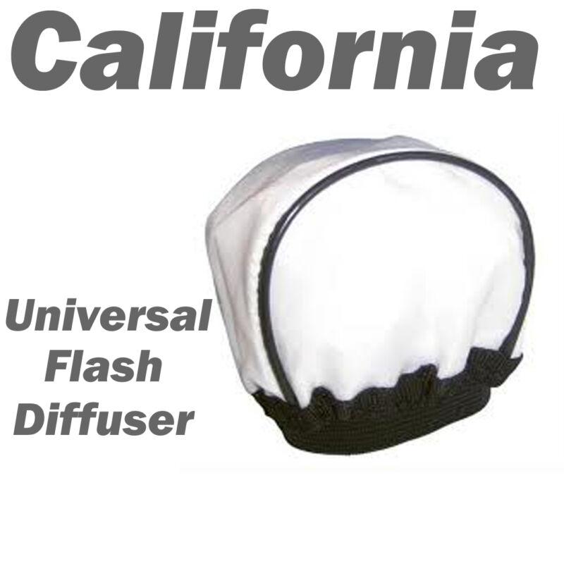 Universal Flash Bounce Cloth Diffuser Soft Box Olympus Sigma,Off-Camera white