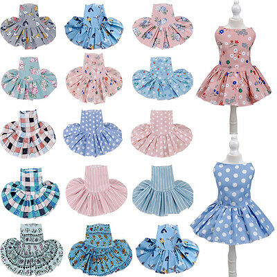 Puppy Cute Pet Dog Cat Cotton Dress Skirt Princess Costume Apparel Clothes](Cute Dog Costume)