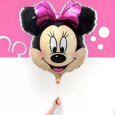 MINNIE MOUSE BIRTHDAY BALLOON 64x69cm OFFICIAL PARTY SUPPLIES Helium Foil