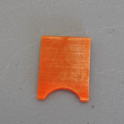 Baum 714 Orange Double Sheet Tab New Original Part 50498