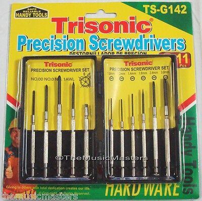 11 Piece Precision Mini Screwdriver Set Hand Tool Eyeglasses Watch Repair Kit