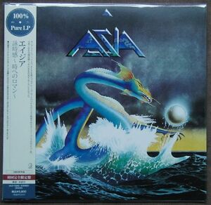 Sealed-ASIA-Asia-JAPAN-100-PURE-LP-Audiophile-180g-Colorless-Vinyl-UIJY-75005