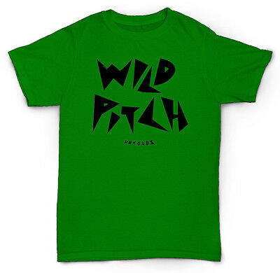 - WILD PITCH RECORDS T SHIRT VINTAGE HIP-HOP RAP