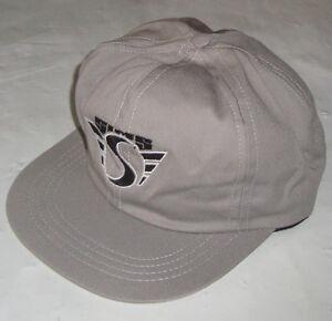 SIMS-Skate-Gorra-Original-039-De-los-anos-80-Skate-clasico-crema-NOS
