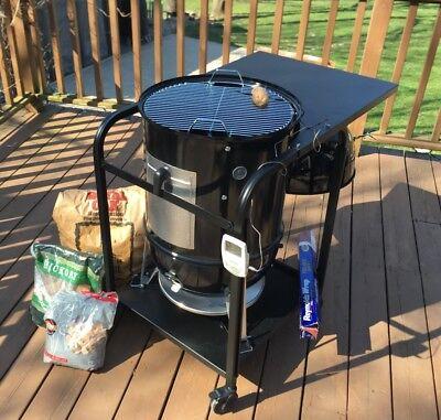 1 Weber Smokey Mountain 18.5 Bbq Smoker Cartbullettruck Limited Qty. 15
