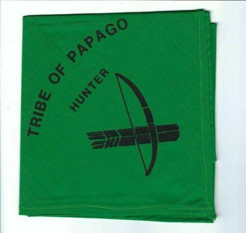 Boy Scout OA 494 Tribe Of Papago Hunter Neckerchief Catalina Council