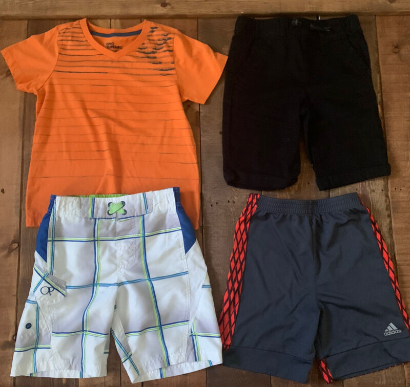 Lot Of Boys Clothing Size 5 Epic Threads, Adidas, Ocean Pacific