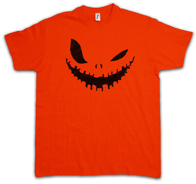 GLOWING HALLOWEEN PUMPKIN III T-SHIRT Horror Trick or Treat Samhain USA Creature