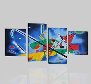 Quadri moderni astratti dipinti a mano su tela omaggio a for Dipinti ad olio moderni