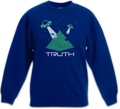 Truth Kinder Pullover Pulli Ufo Ufos Alien Aliens Haunebu Roswell Adamski OVNI