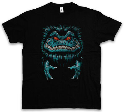 SPACE MONSTER T-SHIRT Halloween Symbol Logo Sign Critters Film - Halloween Film T Shirts
