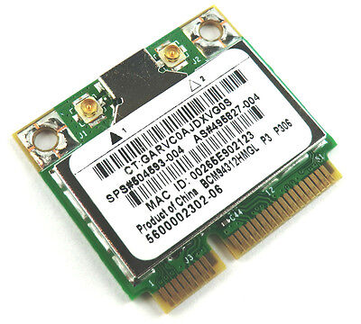 HP Mini WLAN 110 Serie, P/N: 504593-004, BCM94312HMG - Mini 110 Serie