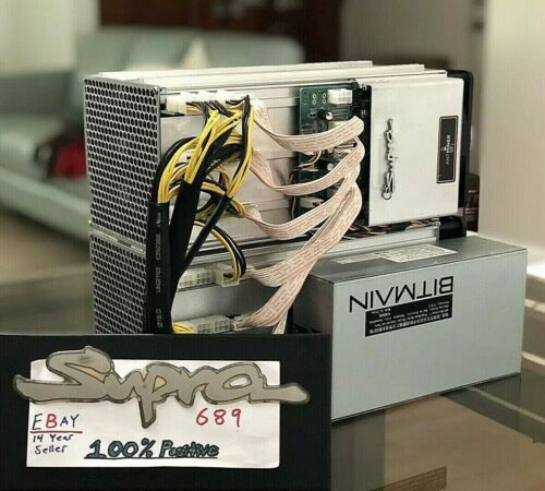 Antminer S9Dual BUILT WITH 2x S9j 🔥32TH @ 2580w🔥 Listing WITH NO PSU - USA