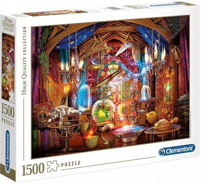 Clementoni High Quality Puzzle 1500 pièces Atelier des Sorciers 31813