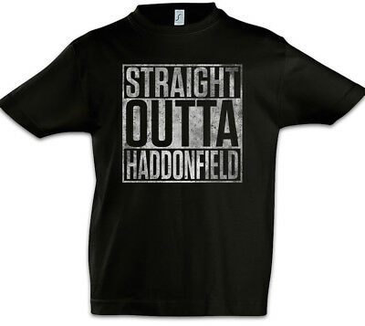 Straight Outta Haddonfield Kinder Jungen T-Shirt Michael Halloween Fun Myers