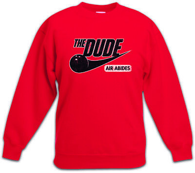Dude Air Kids Kinder Pullover The Walter Fun Big Lebowski Donaly Bowling ()