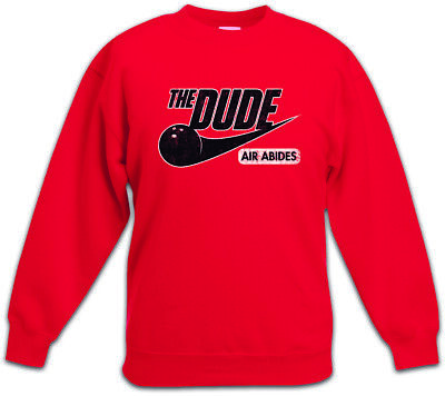 Dude Air Kinder Pullover The Walter Fun Big Lebowski Dude Donaly Donny Bowling ()