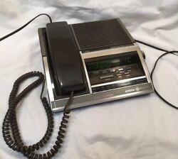 Vintage GE Model 7-4705 AM/FM combo Alarm Clock Radio Telephone led display
