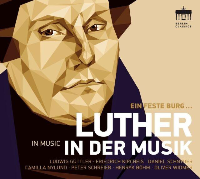 LUDWIG GÜTTLER -500 JAHRE REFORMATION-LUTHER UND DIE MUSIK   CD NEU ECCARD/BACH