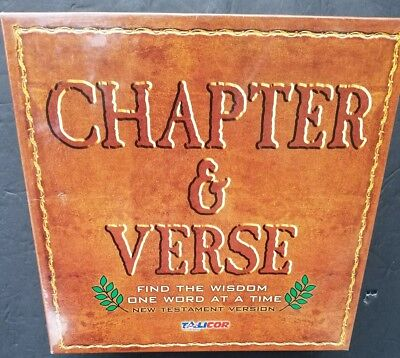 Bible Game Chapter & Verse New Testament Learn Scripture Religion Religious