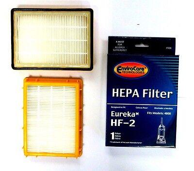 Eureka HF2 HEPA Vacuum Filter 62880 4800 61111 61111A 61111B by envirocare