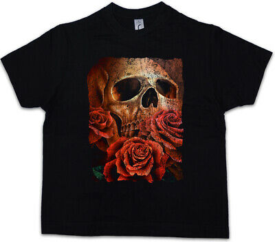 nder Jungen T-Shirt Roses Tattoo Death Dead (Eric Tattoo)