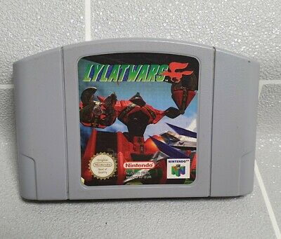 N64 - Lylat Wars - Cartridge Only - Nintendo - EUR/PAL - Tested - Working