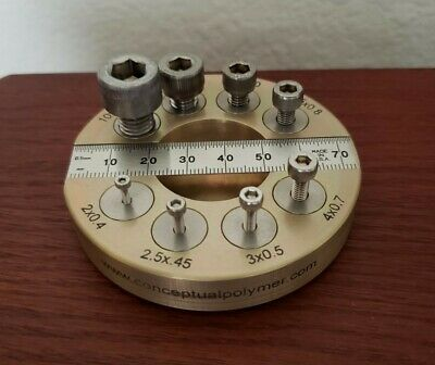 Nut Bolt Thread Checker Metric Made In Usa