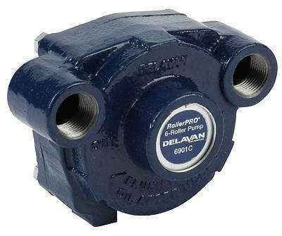 6 Roller Pump - Delavan Rollerpro 6901c 300 Psi 19.6 Gpm Ci Ccw Rear Ports