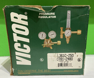 Victor Thermadyne Pressure Regulator New In Box Plumbing Heating Welding