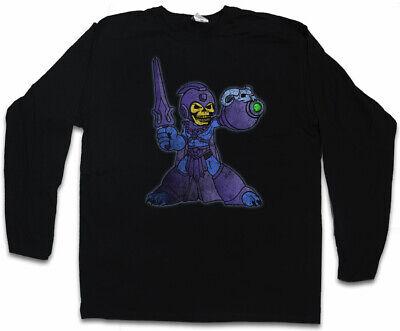 MEGATOR HERREN LANGARM T-SHIRT Masters of the Skeletor Mega Fun Man Universe online kaufen